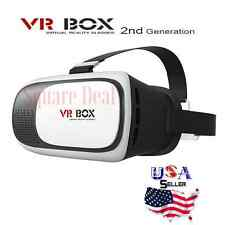 3D VR Box Virtual Reality Glasses  For iPhone Samsung HTC Android Glasses ONLY