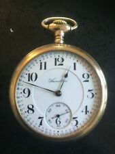 hamilton 1920s gold filled railway watch