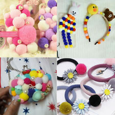 Lots 100pcs/Pack Mixed Color Wool Felt Balls Handmade Making DIY Beads 1cm