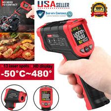 Temperature Gun Non Contact Digital Laser Infrared Thermometer Ir Temp Meter Us