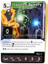 DC Comics LANTERN BATTERY Recharge #86 War of Light Dice Masters card Wizkids