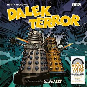"""Doctor Who - Dalek Terror - 12"""" Splatter Vinyl - Record Store Day 2021 RSD"""