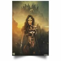 WONDER WOMAN Movie PHOTO Print POSTER Film Cast Gal Gadot Diana Price Aquaman 13