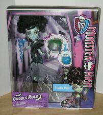 Monster High Ghouls Rule Frankie Stein NIP VHTF 2012