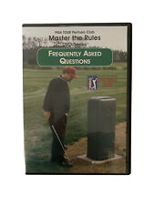 Pga Tour Partners Club: Master The Rules Dvd Series, Frequently Asked Questions