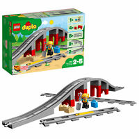 10872 LEGO Duplo Town Train Bridge And Tracks 26 Pieces Age 2+