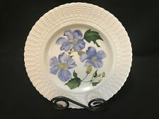 "Royal Cauldon ~ Flowers of the Caribbean Plate ~ 9 1/2"" ~ BLUE SKY FLOWER"