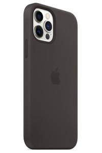 Apple Echt Original MagSafe Silikon Hülle für iPhone 12 Mini Schwarz