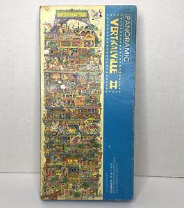 Vtg Springbok VERTICALVILLE II Puzzle Panoramic 700pc Hallmark 1980s Complete