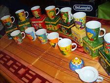 13 Kaffeebecher Jacobs/Ritzenhoff,teils mit OVP, Milch und Sahnekänchen Neu