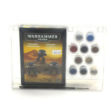 SPACE MARINES Tactical marine paint set Warhammer 40K NIB NEW