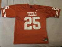 Vtg 2005 Nike #25 Jamaal Charles Texas Longhorns College Football Jersey - Sz XL