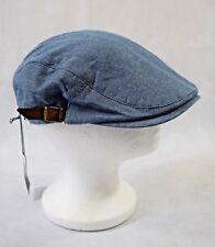 86e3c3dced5 Bnwt John Lewis Herringbone Flat Cap In Blue - One Size (R177)