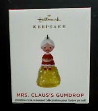 Hallmark 2020 Limited Edition Mini Mrs. Claus'S Gumdrop New Ornament