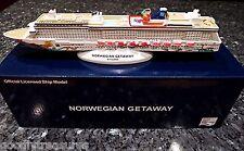 NCL Norwegian Cruise line GETAWAY Cruise Ship Model