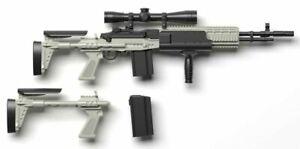1/12 Scale Weapons Little Armory LA051 Mk14 Mod0 EBR Model Kit US seller 6 inch