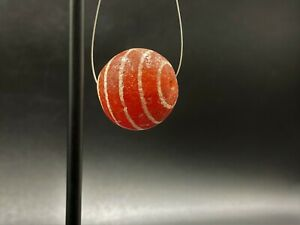 Old Antique Etched carnelian bead