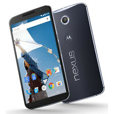 "NEW MOTOROLA NEXUS 6 XT1103 UNLOCKED VERIZON TMOBILE AT&T 32GB 6"" SCREEN USA!!!!"