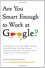 Are You Smart Enough to Work at Google?: Trick Que