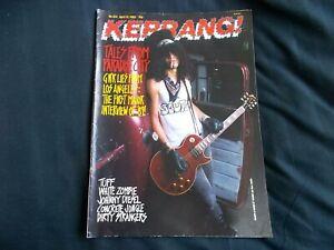 Kerrang! Magazine Issue 234 April 15th 1989 Slash Guns n Roses Major Interview