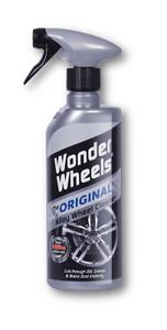 Wonder Wheels WWO600 Original Car Care Valeting Alloy Wheel Cleaner 600ml