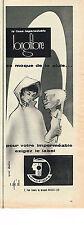 PUBLICITE ADVERTISING 024   1959   LONGFIBRE    tissu impeméable