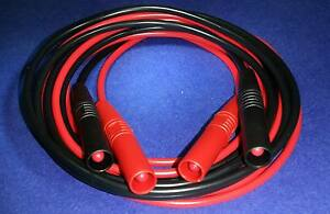 DMM Test Leads  6 Amps Extra Long 1.5 Metres