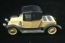 1910 Renault Corgi Glassics Die Cast England Car 12/16 Convertible Auto Yellow