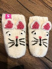 Joules Baby Girl Mits 6-12 Months