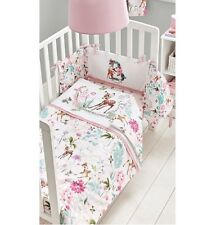 Disney Bambi Baby Girl Pink Cot Bed Bedding 4tog Quilt Toddler