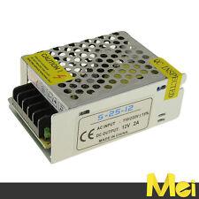 H002 alimentatore STABILIZZATO 24W 12V 2A da INTERNO SWITCHING LED 5050 5630
