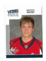 2009-10 UPPER DECK VICTORY #340 BRADEN HOLTBY RC UD ROOKIE
