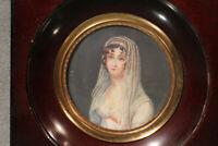 Miniature portrait de Madame Récamier