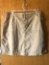 Fresh Produce Contemporary Fit Tan Cotton Light Weight Skirt XL