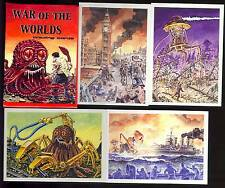 The War of the Worlds  Monsterwax Cards -  Set #58 of Only 1000 Made