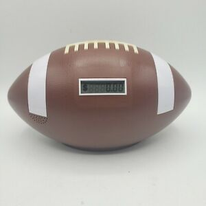 """Electronic Football Coin Counting Piggy Bank, Talks """"TOUCHDOWN"""" And Keeps Total"""