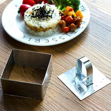 Small Stainless Steel Cake Square Moulds Rosti Presentation Food Rings
