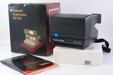 Polaroid SUPERCOLOR SE 635 instant camera Boxed 600 film tested ref.510183