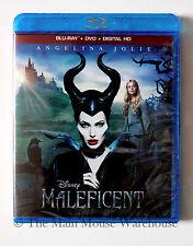 Disney A Twist on Sleeping Beauty Maleficent Blu-ray DVD Digital Copy Combo Pack