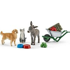 New Schleich Farm Life Feeding on the Farm Playset Schleich 41423 Age 3-8yrs