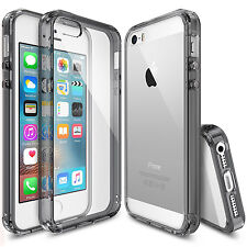 For Apple iPhone SE 5S | Ringke [FUSION] Clear Shockproof Protective Cover Case