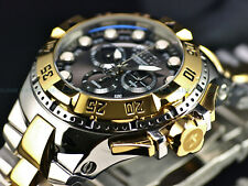 Invicta Reserve Men 50mm Excursion SWISS MADE Chrono TT Shark Gray Dial SS Watch