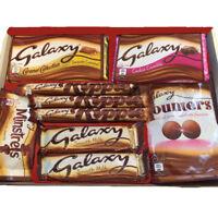 GALAXY CHOCOLATE HAMPER GIFT BOX FATHERS DAY BIRTHDAY KIDS