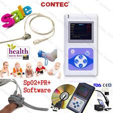 Infant/Pediatric/Neonate/Child Fingertip Pulse Oximeter SpO2 PR Sleep Monitor CE