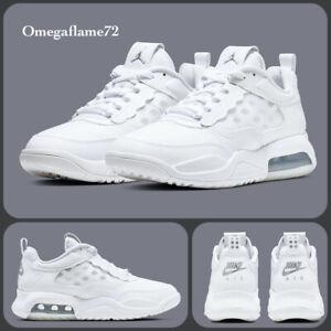 Nike Jordan Air Max 200, Sz UK 6, EU 40, US 7Y,  CD5161-101, White & Met Silver
