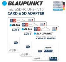 Blaupunkt Micro-SD Karte 64GB inkl. SD-Adapter