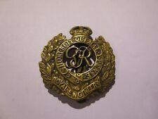 "Cap badge ""Royal Engineers Corps"" anglais WW2"