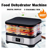5/6/7/8 Trays Food Dehydrator Machine Jerky Dehydrators High Quality Low Noise