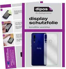 5x Schutzfolie für HTC Wildfire X Rückseite Display Folie klar