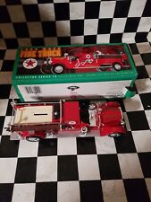 Ertl Collectibles 1/25 1929 Mack Texaco Fire Truck Bank MIB 1998 Series 15